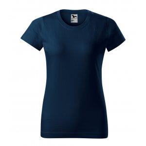 Dámské triko MALFINI BASIC 134 NÁMOŘNÍ MODRÁ