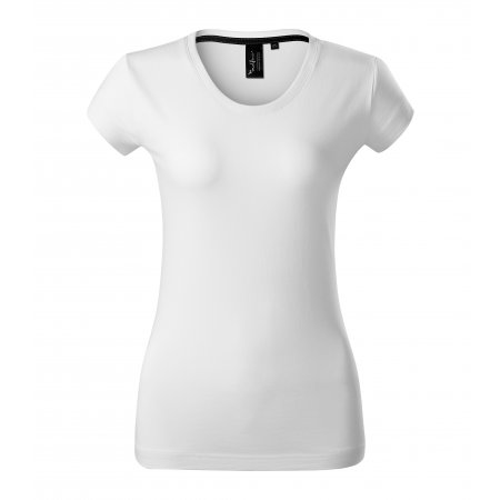 Dámské triko s krátkým rukávem MALFINI PREMIUM EXCLUSIVE 154 BÍLÁ