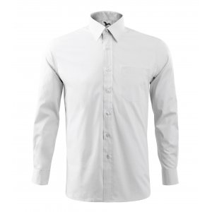 Pánská košile s dlouhým rukávem MALFINI STYLE LS 209 BÍLÁ