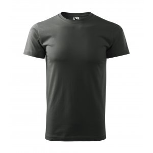 Pánské triko MALFINI BASIC 129 TMAVÁ BŘIDLICE