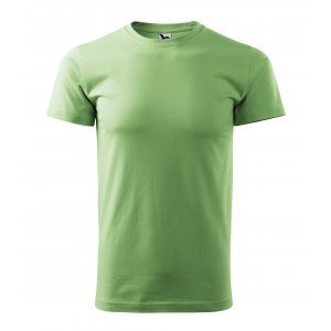 Pánské triko MALFINI BASIC 129 TRÁVOVĚ ZELENÁ