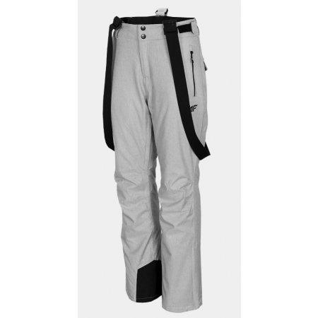 Dámské lyžařské kalhoty 4F D4Z20-SPDN301 COLD LIGHT GREY MELANGE
