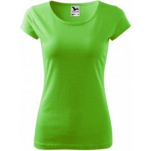 Dámské triko MALFINI PURE 122 APPLE GREEN