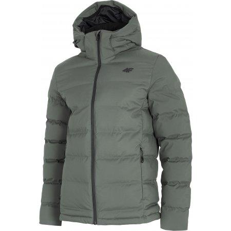 Pánská zimní bunda 4F D4Z20-KUMP204 MIDDLE GREY