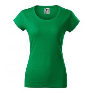 Dámské triko MALFINI VIPER 161 STŘEDNĚ ZELENÁ