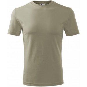 Pánské triko MALFINI CLASSIC NEW 132 SVĚTLÁ KHAKI