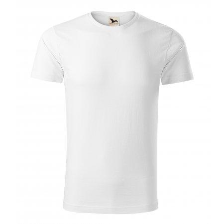 Pánské triko MALFINI ORIGIN 171 BÍLÁ