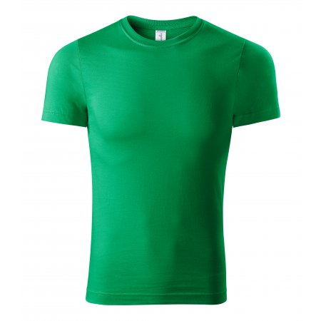 Pánské triko PICCOLIO PAINT P73 STŘEDNĚ ZELENÁ