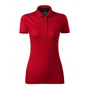 Dámské triko s límečkem MALFINI PREMIUM GRAND 269 FORMULA RED