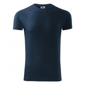 Pánské triko MALFINI VIPER 143 NÁMOŘNÍ MODRÁ