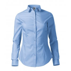 Dámská košile s dlouhým rukávem MALFINI STYLE LS 229 NEBESKY MODRÁ