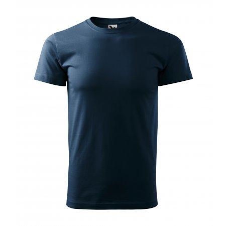 Pánské triko MALFINI BASIC 129 NÁMOŘNÍ MODRÁ