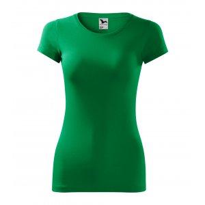 Dámské triko MALFINI GLANCE 141 STŘEDNĚ ZELENÁ