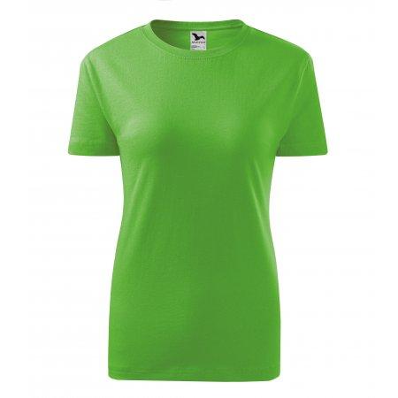 Dámské triko MALFINI CLASSIC NEW 133 APPLE GREEN