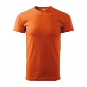 Pánské triko MALFINI BASIC 129 ORANŽOVÁ