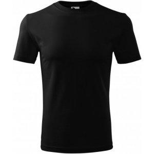 Pánské triko MALFINI CLASSIC NEW 132 ČERNÁ