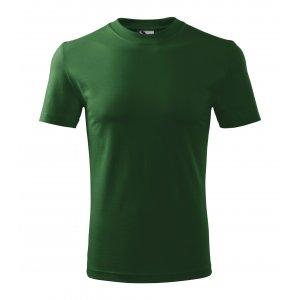 Pánské triko MALFINI HEAVY 110 LAHVOVĚ ZELENÁ