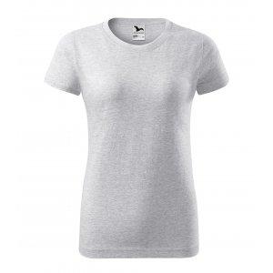 Dámské triko MALFINI BASIC 134 SVĚTLE ŠEDÝ MELÍR