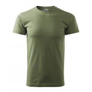 Pánské triko MALFINI BASIC 129 KHAKI