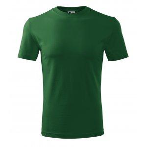 Pánské triko MALFINI CLASSIC NEW 132 LAHVOVĚ ZELENÁ