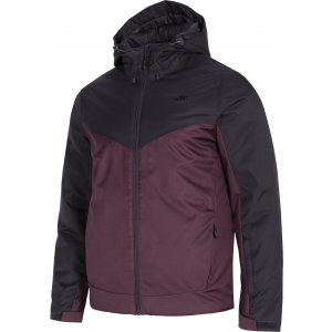 Pánská lyžařská bunda 4F D4Z20-KUMN301 BURGUNDY