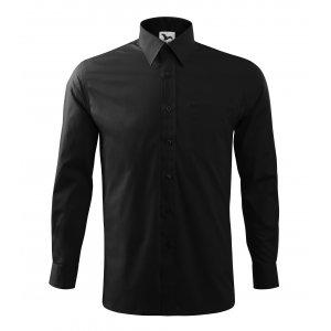 Pánská košile s dlouhým rukávem MALFINI STYLE LS 209 ČERNÁ