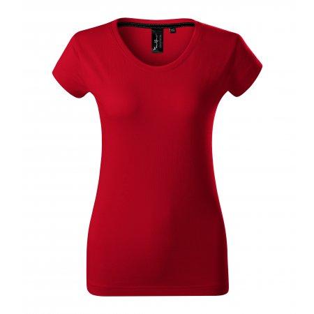 Dámské triko s krátkým rukávem MALFINI PREMIUM EXCLUSIVE 154 FORMULA RED