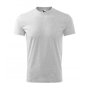 Pánské triko MALFINI HEAVY 110 SVĚTLE ŠEDÝ MELÍR