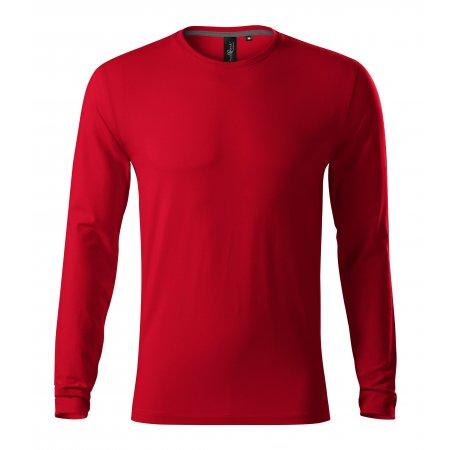 Pánské triko s dlouhým rukávem MALFINI PREMIUM BRAVE 155 FORMULA RED