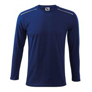 Pánské triko s dlouhým rukávem MALFINI LONG SLEEVE 112 KRÁLOVSKÁ MODRÁ