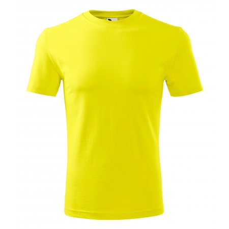 Pánské triko MALFINI CLASSIC NEW 132 CITRONOVÁ