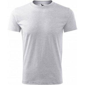 Pánské triko MALFINI CLASSIC NEW 132 SVĚTLE ŠEDÝ MELÍR