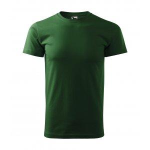 Pánské triko MALFINI BASIC 129 LAHVOVĚ ZELENÁ