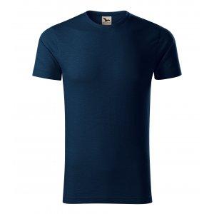 Pánské triko MALFINI NATIVE 173 NÁMOŘNÍ MODRÁ