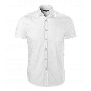 Pánská košile s krátkým rukávem MALFINI PREMIUM FLASH 260 BÍLÁ