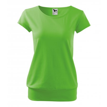 Dámské triko MALFINI CITY 120 APPLE GREEN