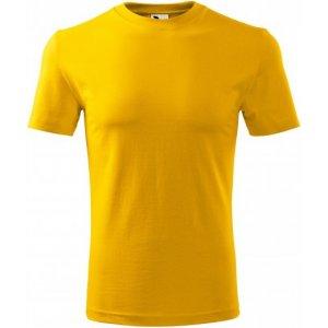 Pánské triko MALFINI CLASSIC NEW 132 ŽLUTÁ