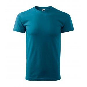 Pánské triko MALFINI BASIC 129 PETROLEJOVÁ
