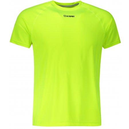 Pánské funkční triko ALTISPORT ALM010175 NEON YELLOW