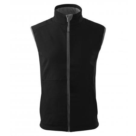 Pánská softshellová vesta MALFINI VISION 517 ČERNÁ