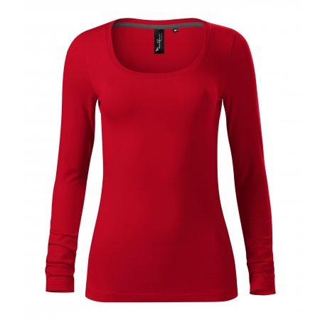 Dámské triko s dlouhým rukávem MALFINI PREMIUM BRAVE 156 FORMULA RED