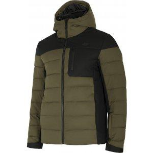 Pánská péřová bunda 4F D4Z20-KUMP205 BROWN