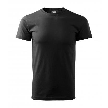 Pánské triko MALFINI BASIC 129 ČERNÁ
