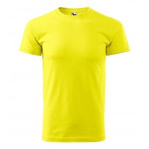 Pánské triko MALFINI BASIC 129 CITRONOVÁ