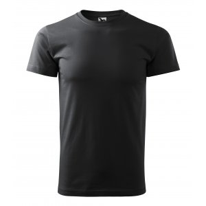 Pánské triko MALFINI BASIC 129 EBONY GRAY