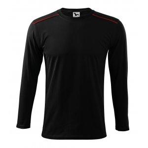 Pánské triko s dlouhým rukávem MALFINI LONG SLEEVE 112 ČERNÁ