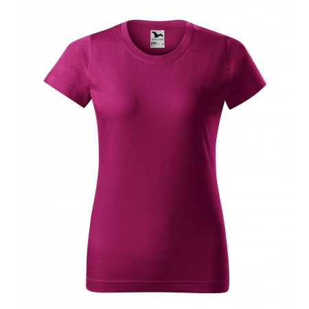Dámské triko MALFINI BASIC 134 FUCHSIA RED