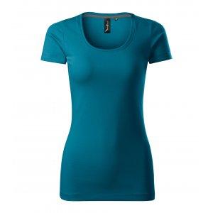 Dámské triko s krátkým rukávem MALFINI PREMIUM ACTION 152 PETROLEJOVÁ