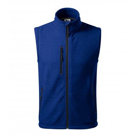 Pánská fleecová vesta MALFINI EXIT 525 KRÁLOVSKÁ MODRÁ