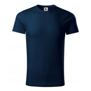Pánské triko MALFINI ORIGIN 171 NÁMOŘNÍ MODRÁ